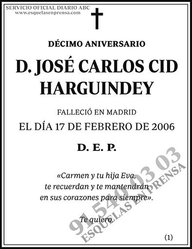 José Carlos Cid Harguindey